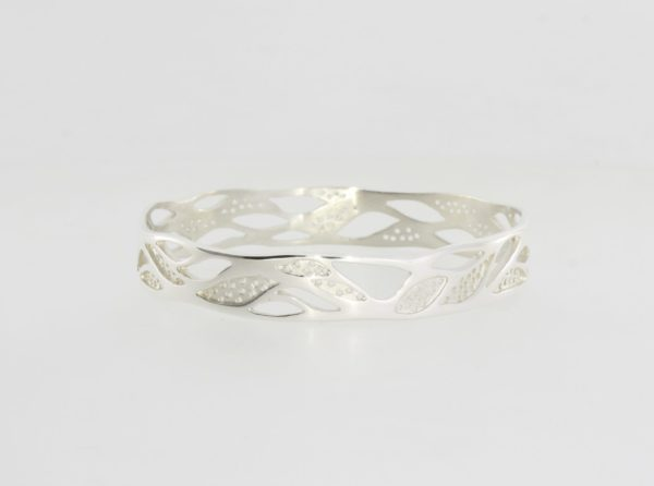 Payet gallery bespoke bangle in sterling silver
