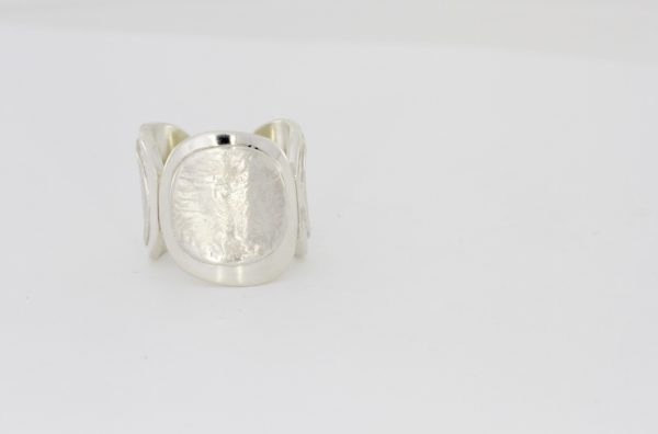 Payet silver 3 part ring