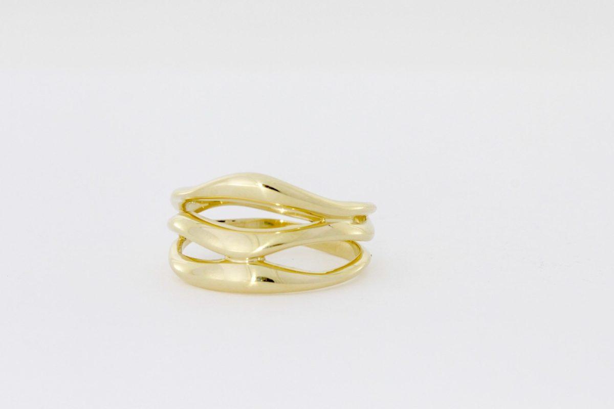 Payet 3 band gold ring