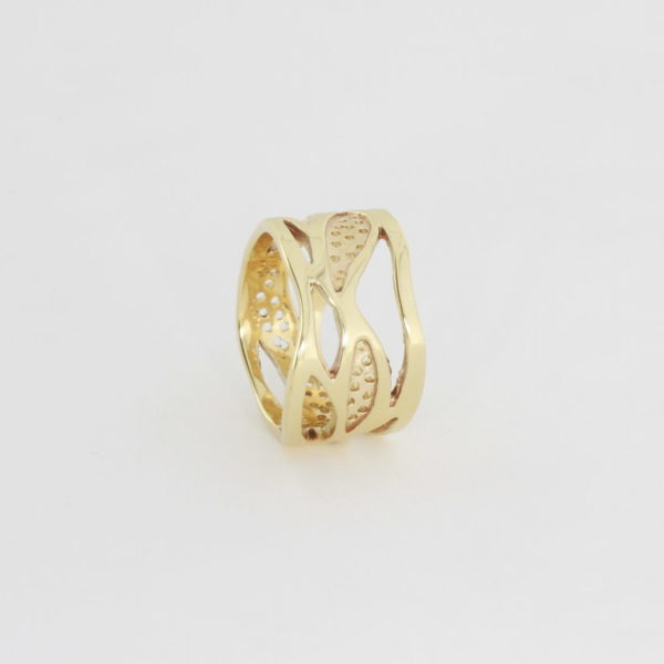 Payet Dariyas dream yellow gold ring