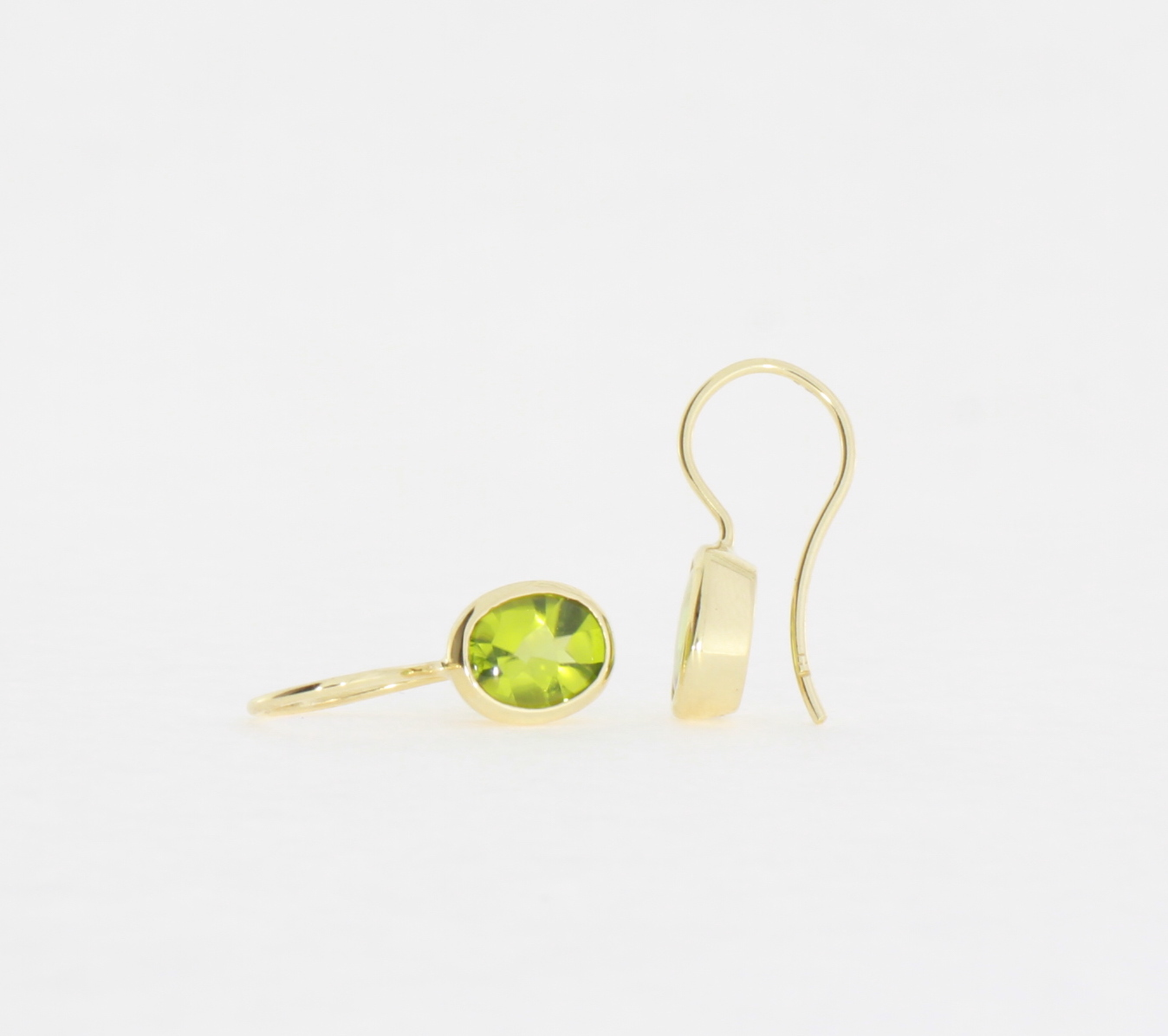 Payet peridot drop earrings