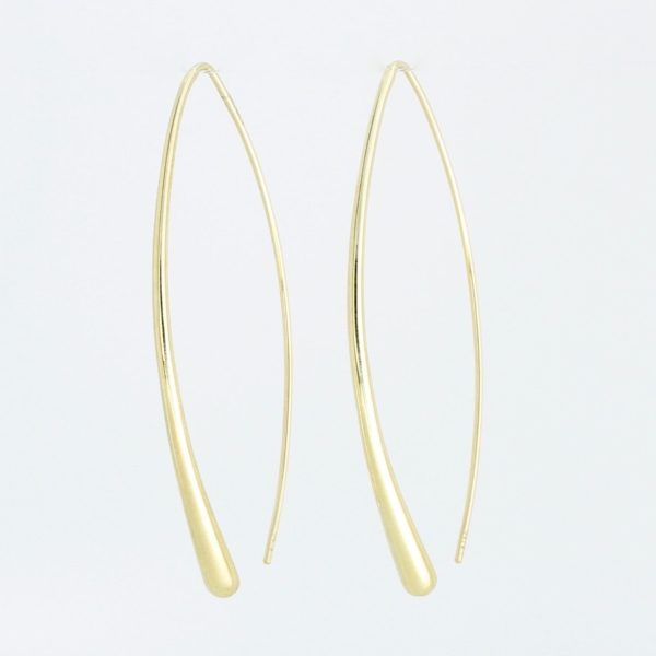 Payet long shape earrings