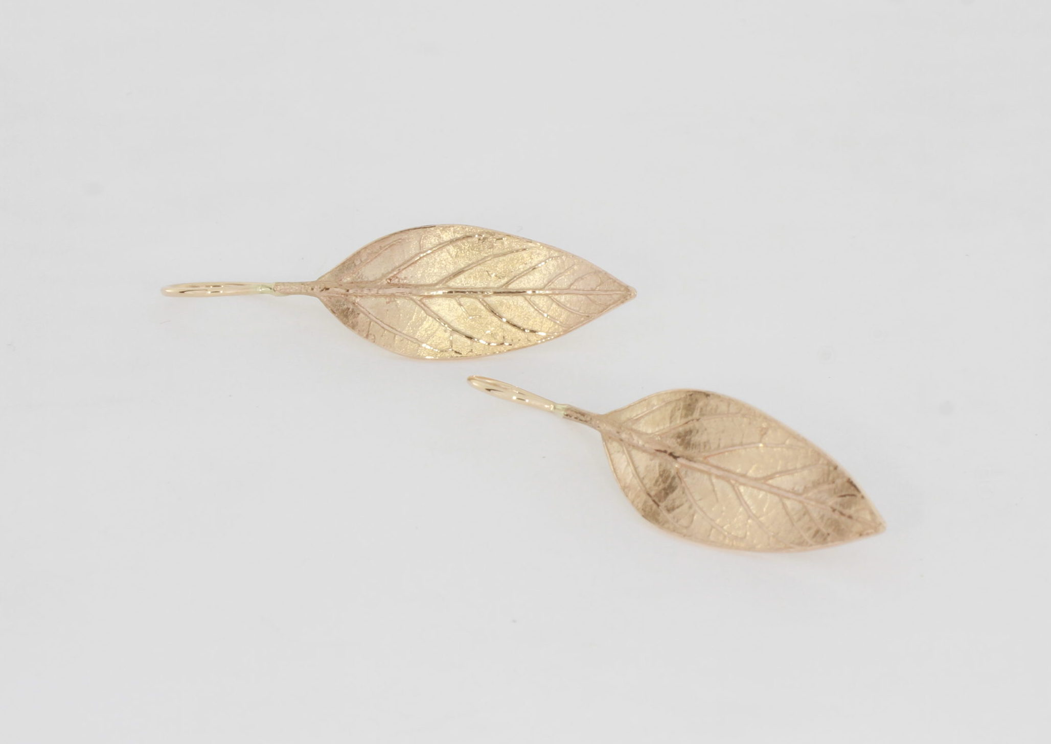 Payet avacado leaf earrings