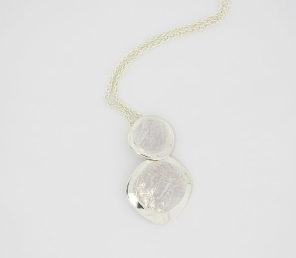 Payet sterling silver 2 part pendant