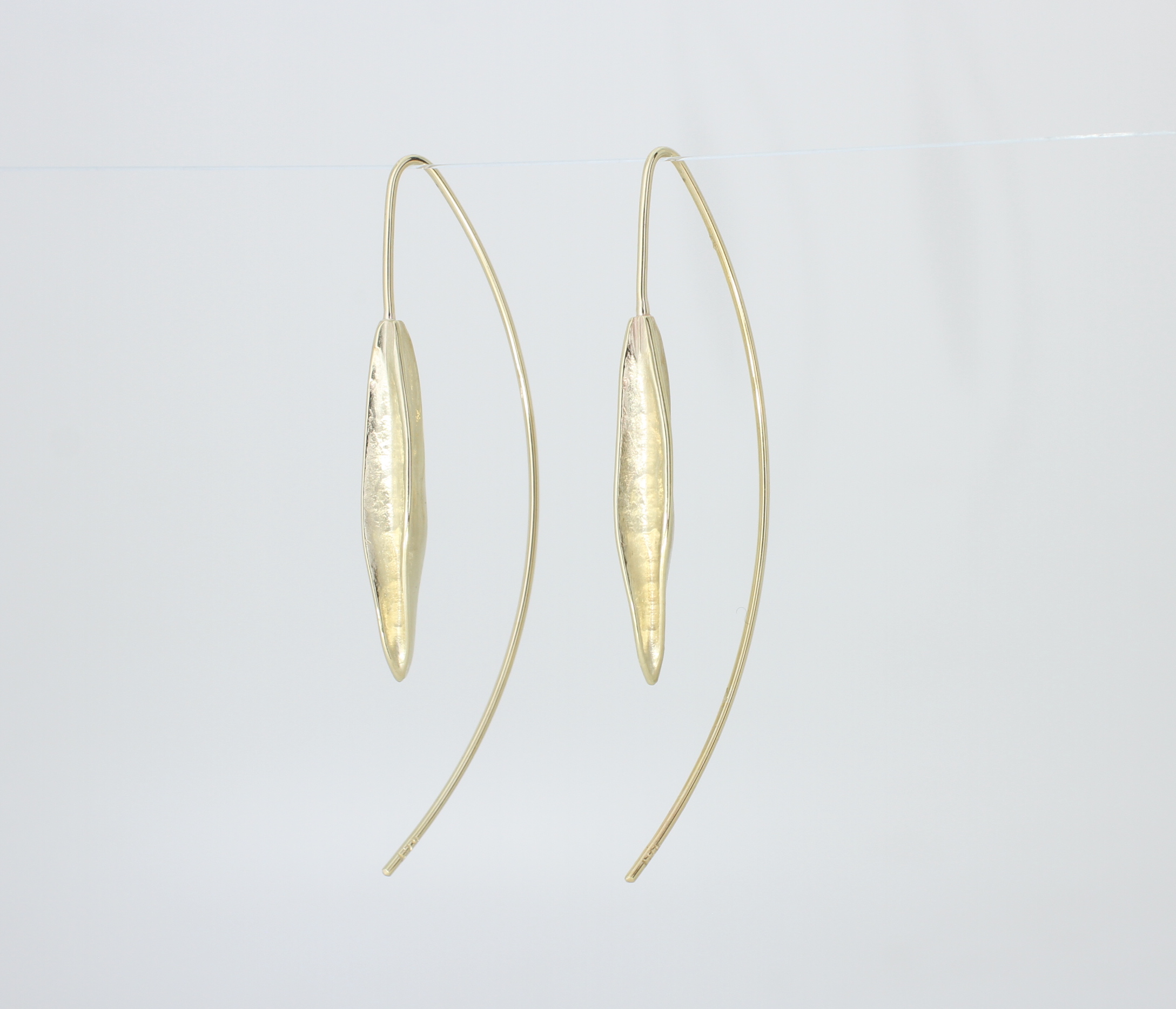 Payet gold drop earrings