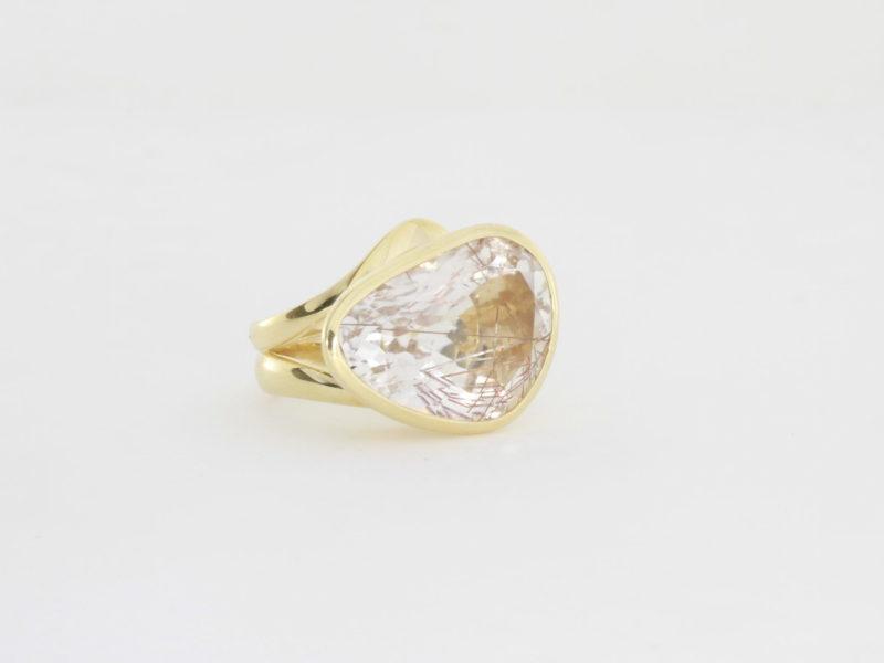 Payet rutilated quartz ring