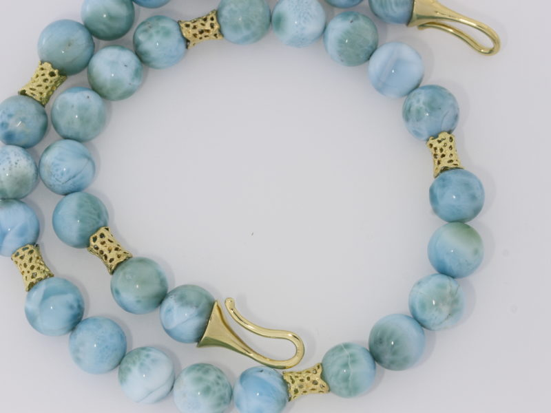 Payet gallery Larimar necklace