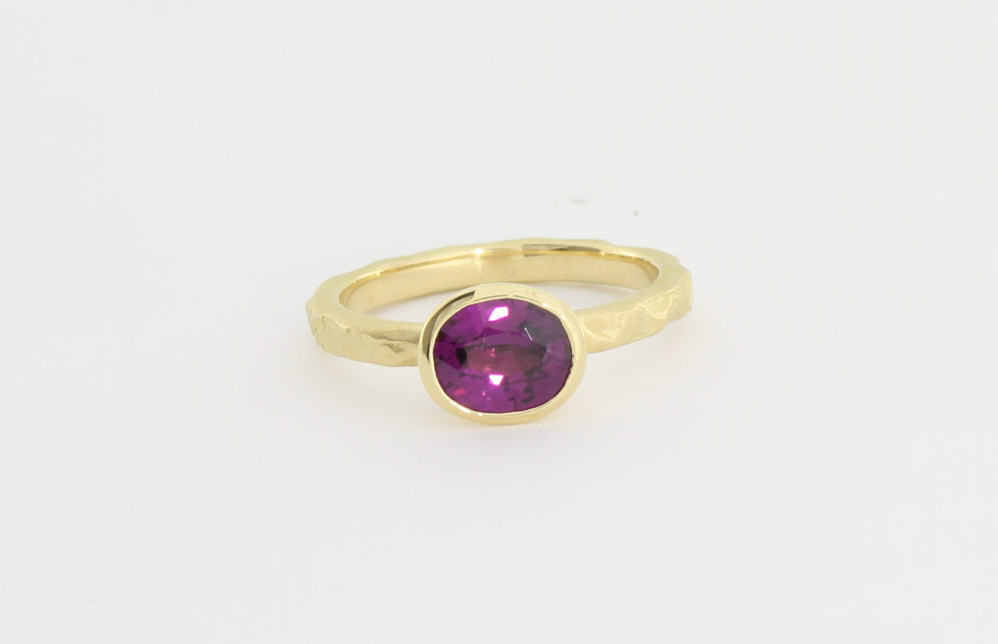 Payet purple garnet ring