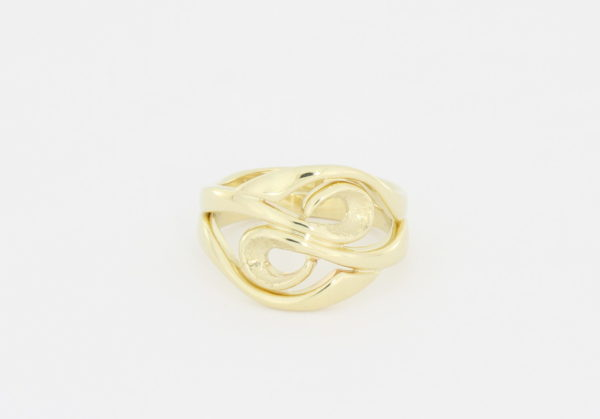 Payet gold swirl ring