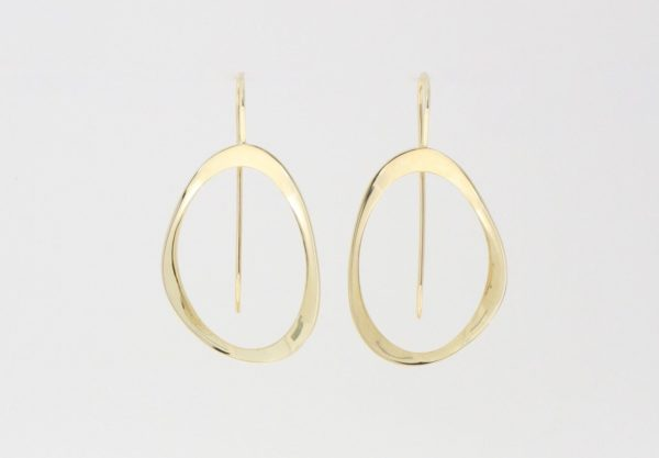Payet shaped earrings