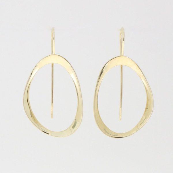 Payet shaped earrings