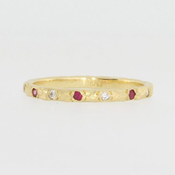 Payet ruby and diamond ring