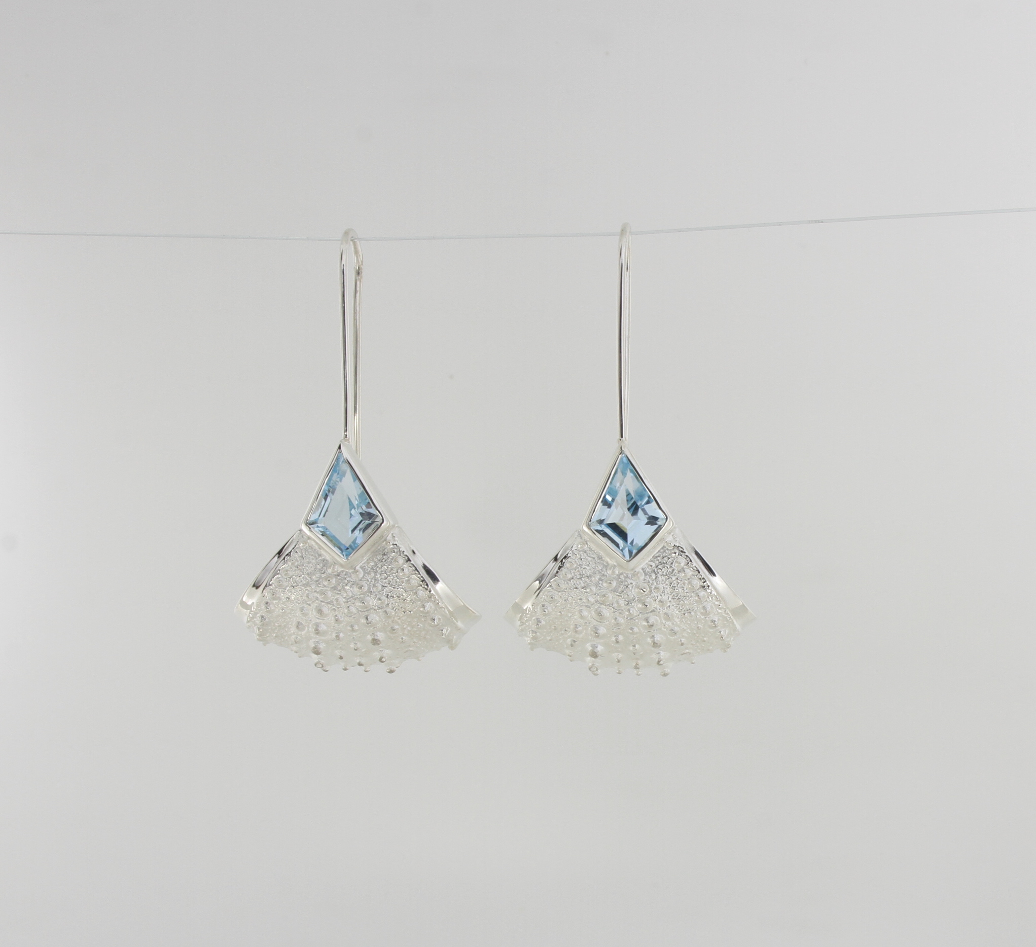 Payet urchin earrings