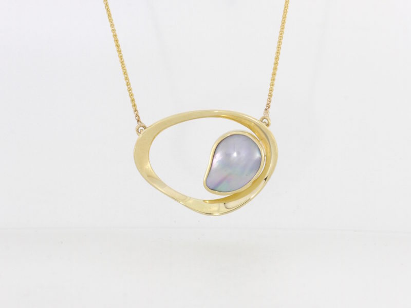 Payet Abrolhos Island pearl pendant