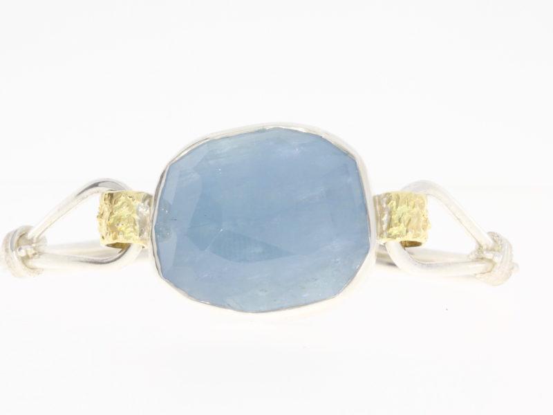 Payet aquamarine bracelet