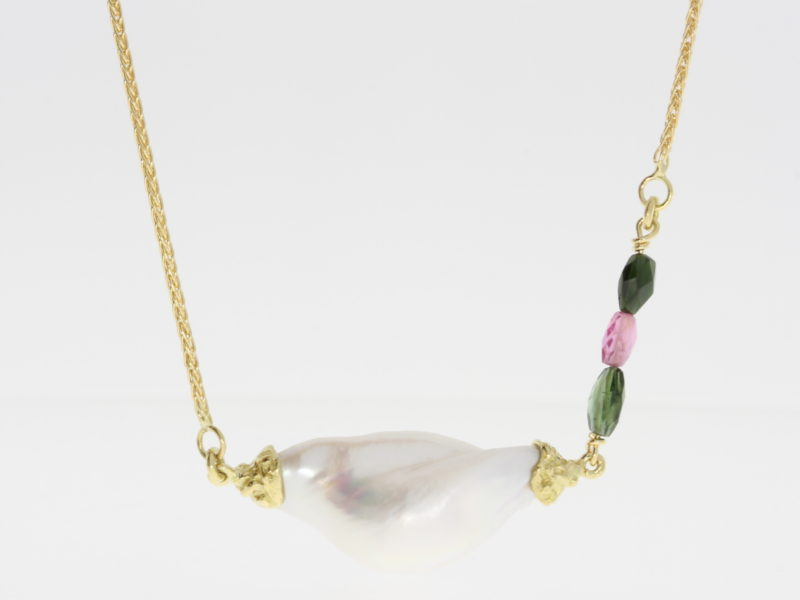 Payet baroque pearl pendant