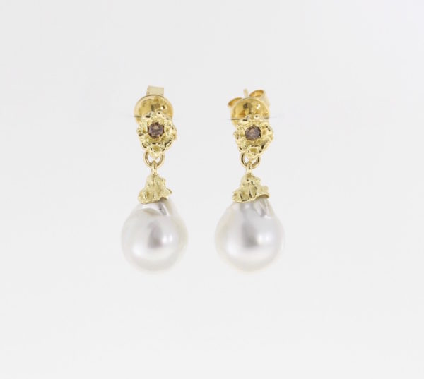 Payet Broome pearl earrings