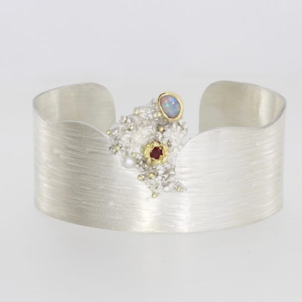 Payet silver bangle