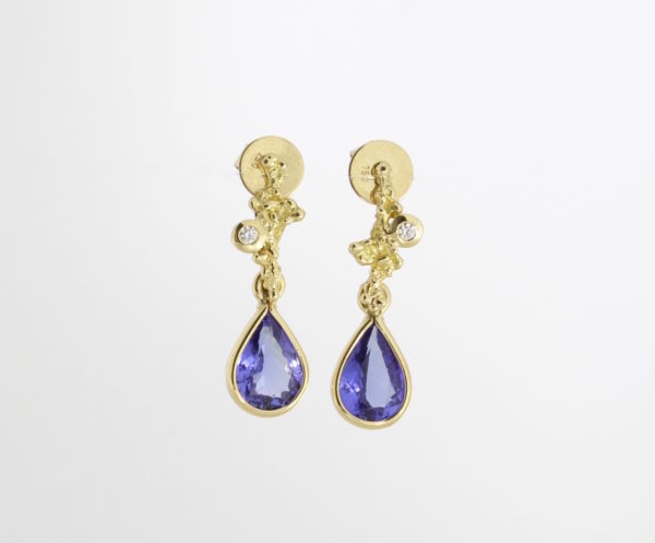 Payet Tanzanite earrings
