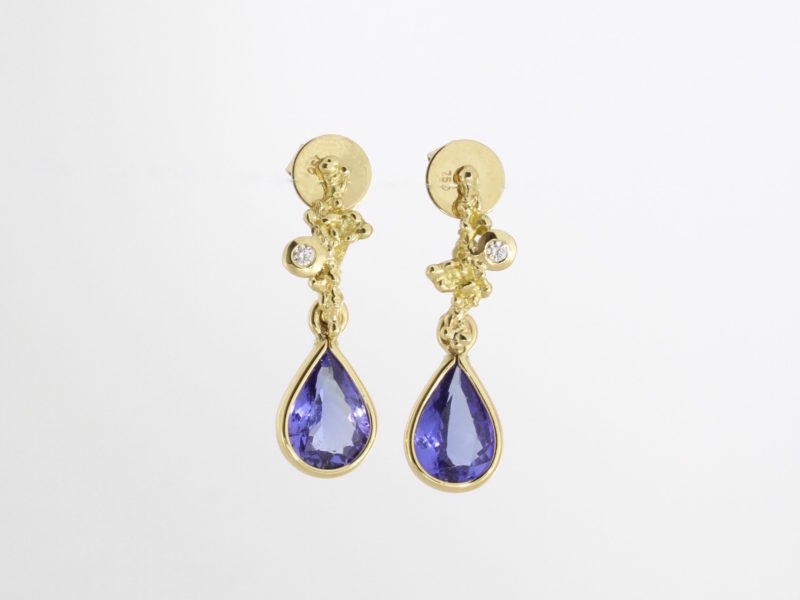 Payet Tanzanite earrings