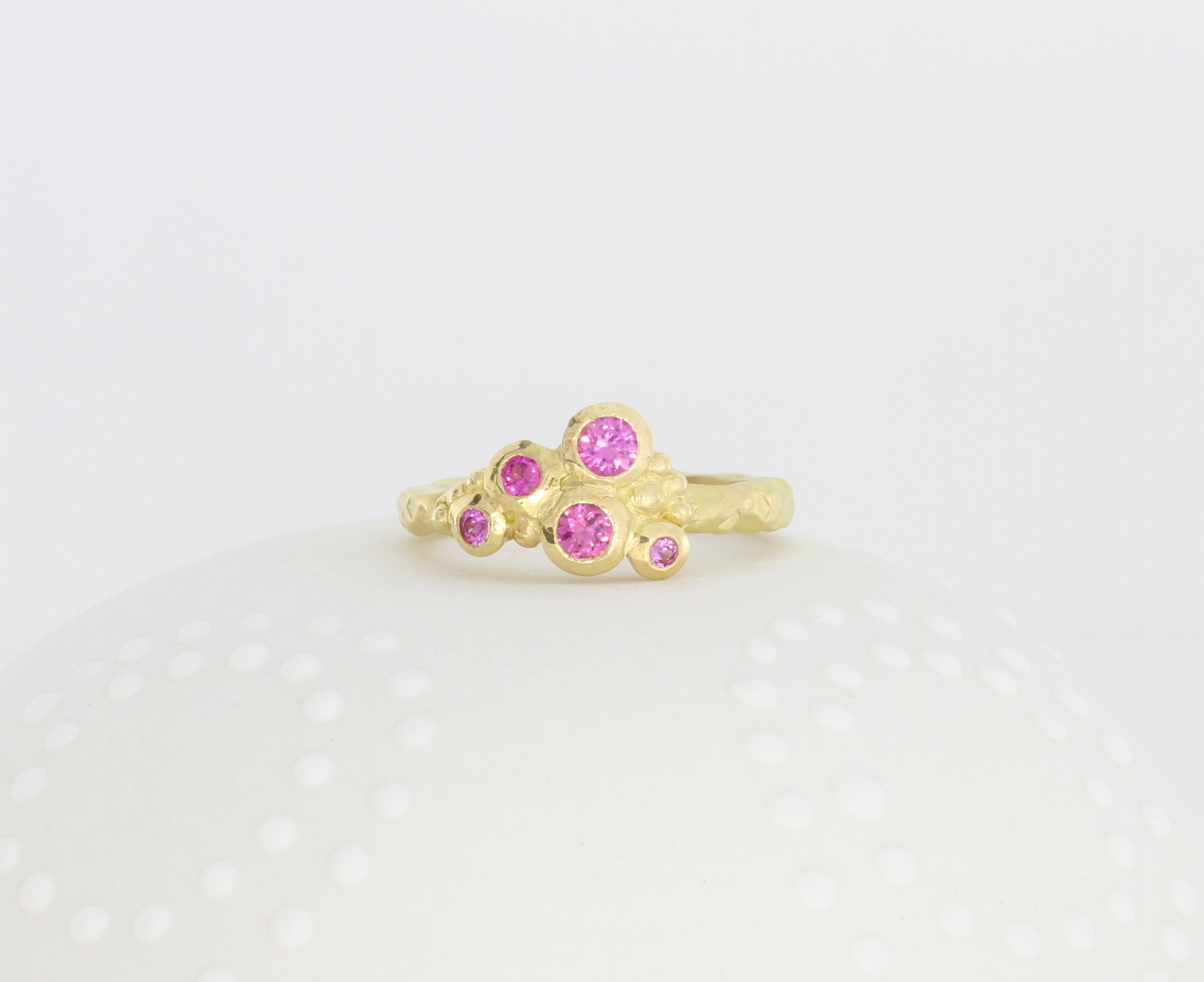 Payet gallery sapphire gold ring